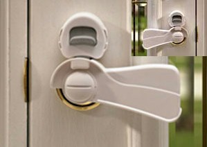 Door knob covers and locks are great because they are hard for your child to figure out and also allow parents to open doors with ease. & How to Baby Proof Doors at Your Home? - Baby Gear Centre