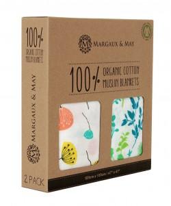 Margaux & May Organic Muslin Blanket