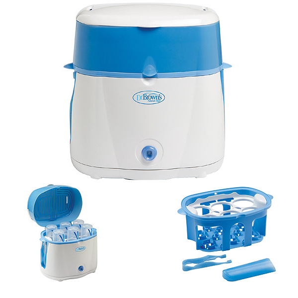 ba143e278c8a How to Sterilize Baby Bottles. The Dr. Brown s Electric Steam Sterilizer ...