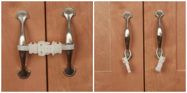 Kiscords Baby Safety Cabinet Locks For Knobs