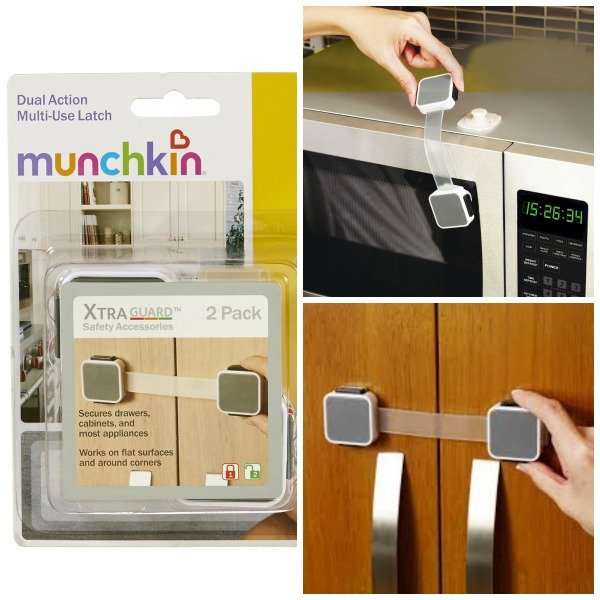 2 Count Each Munchkin Xtra guard Dual Action Multi Use Latches