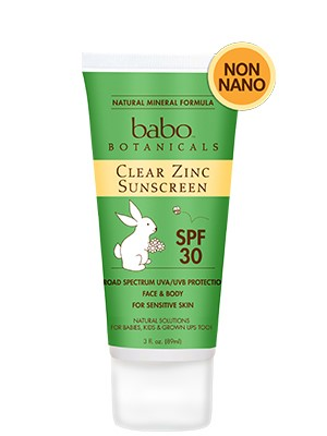 Babo Botanicals SPF 30 Clear Zinc Sunscreen