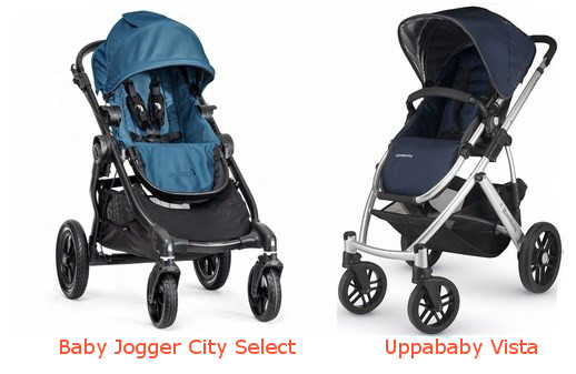 Baby Jogger City Select VS Uppababy Vista  sc 1 st  Baby Gear Centre : uppababy vista replacement canopy - memphite.com