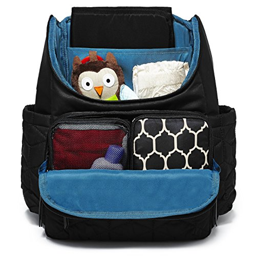 It also comes with a lightweight fabric and a stylish quilted detailing   the convenience this backpack offers is one that hands-free parenting will  love to ... 98e581d02cb47