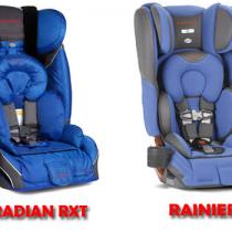 Diono Radian RXT VS Rainier
